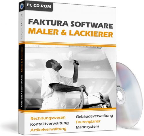 Faktura Software Maler & Lackierer